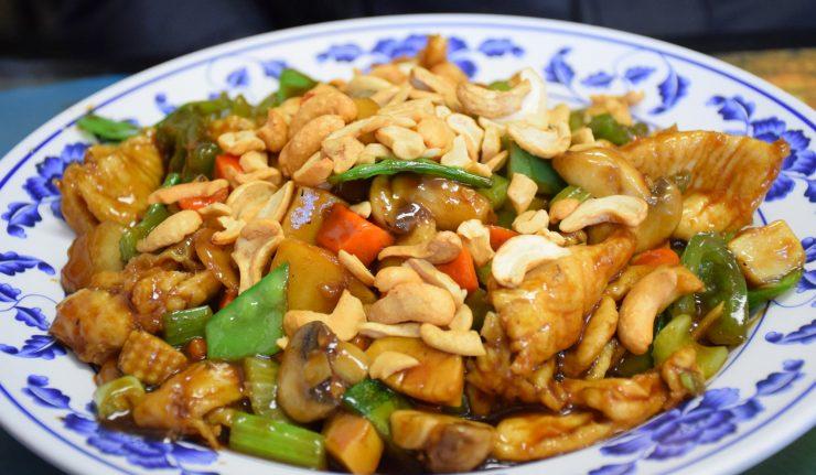 Découvrez la recette de poulet sauté aux noix de cajou (Kai pad med ma muang)