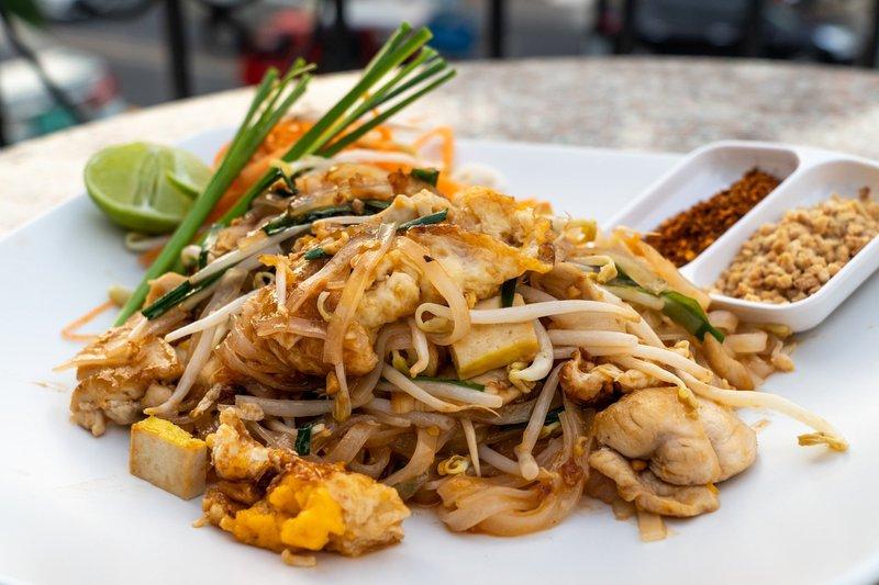 Nourriture thaïlandaise : Pad Thaï