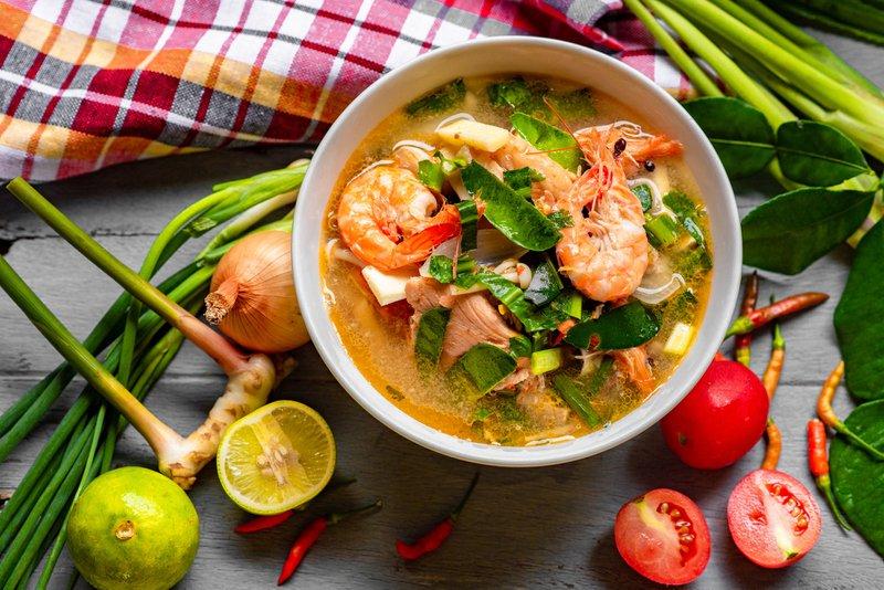recettes thaïlandaises : Tom Yum Goong